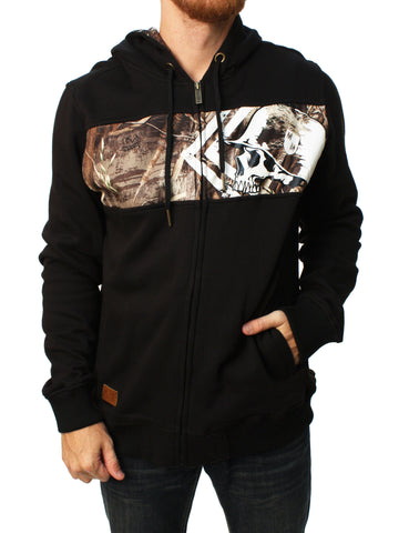 Metal Mulisha Men's Stalk Full Zip Hoodie