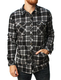 O'Neill Men's Glacier Check Long Sleeve Flannel Shirt