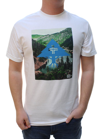 LRG Men's 47 Tree And Forest Graphic T-Shirt