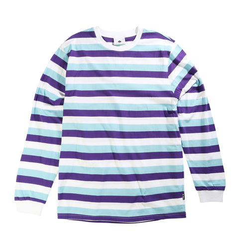 LRG Men's Buzz Stripe Long Sleeve Knit Shirt