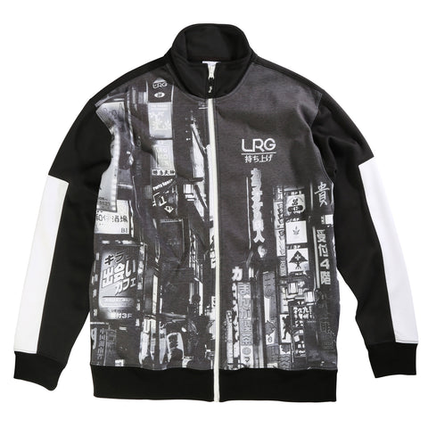 LRG Men's Long Sleeve Midnight Track Jacket