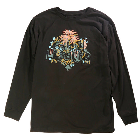 LRG Men's Earth Lessons Tee T-Shirt Crew Neck Long Sleeve