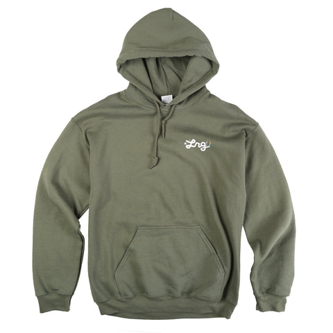LRG Men's Burn Grass Pullover Hoodie Sweatshirt