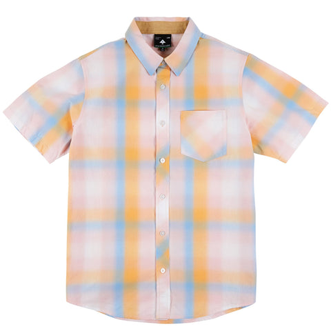 LRG Men's Bright Side Woven Casual Shirt