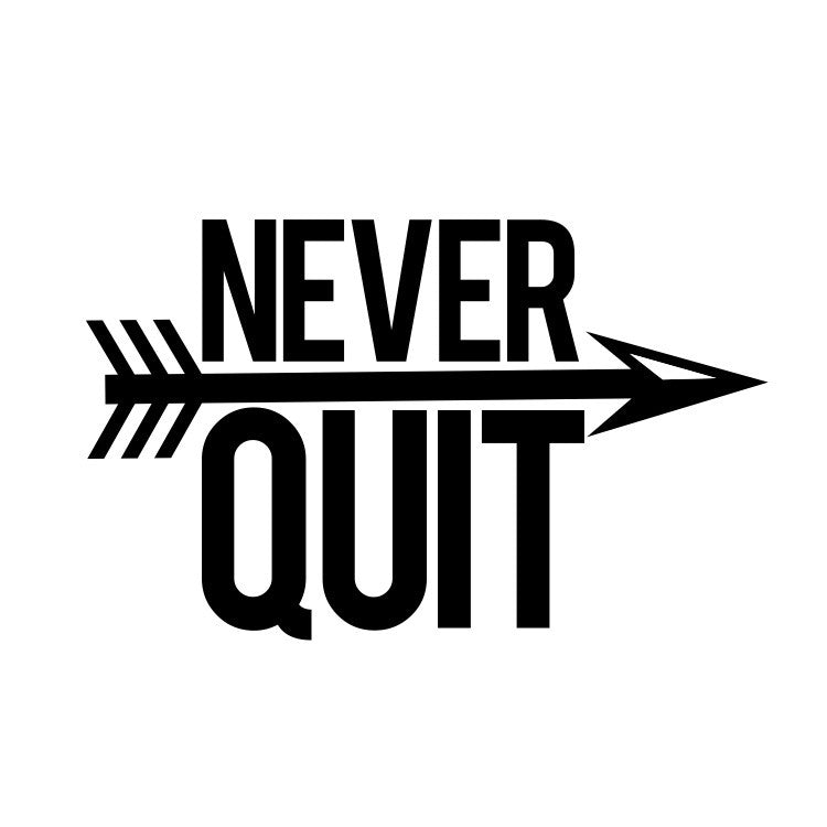 Never Quit - runningluv