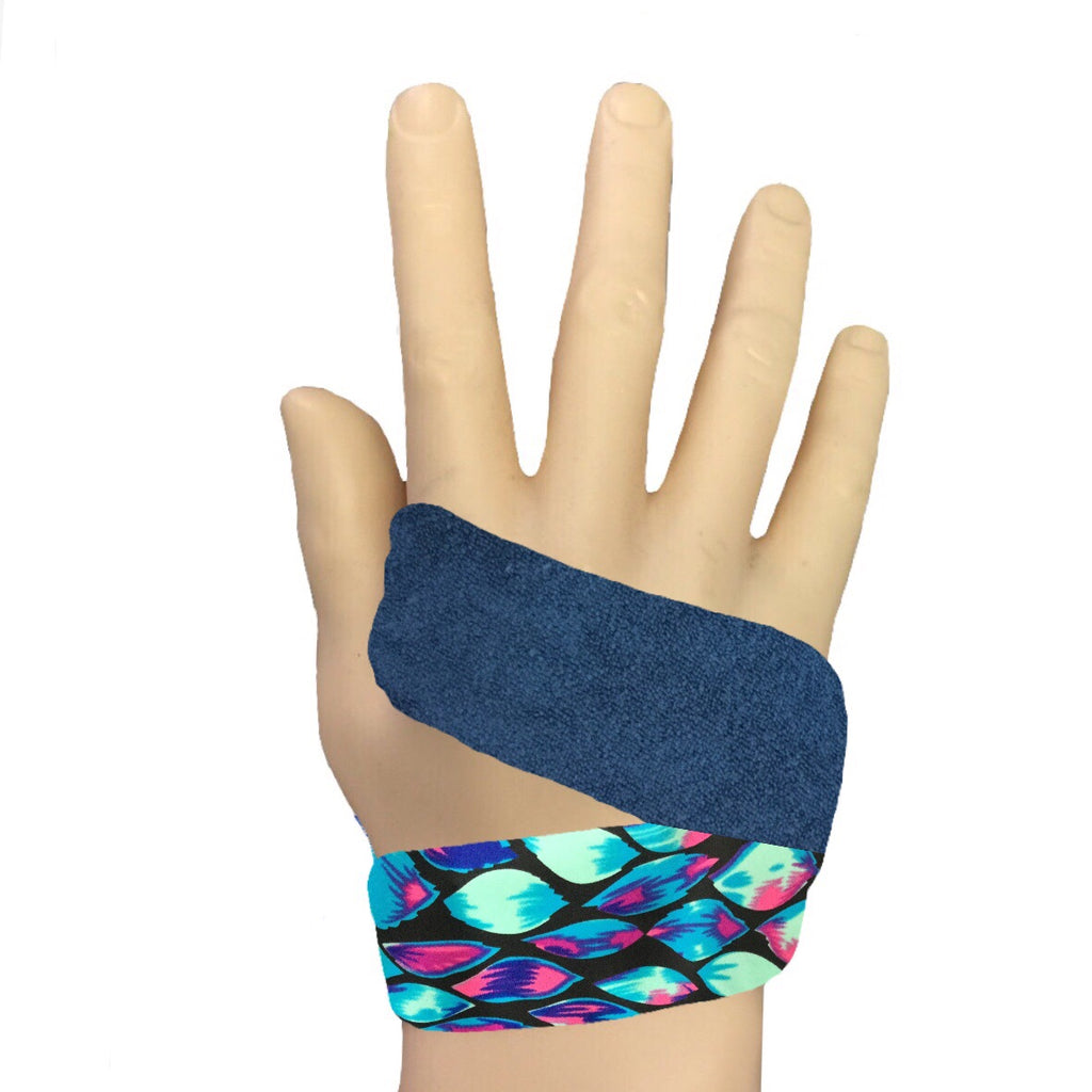 Blue LUVs Peacock Feathers