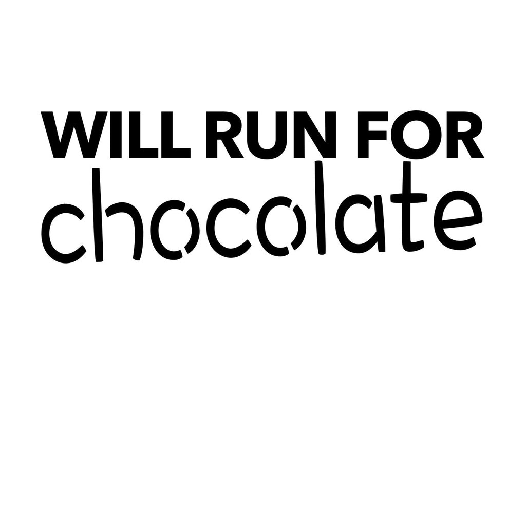 Will Run for Chocolate - runningluv