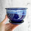 Locally Made Ceramic Planter - Cobalt 4""