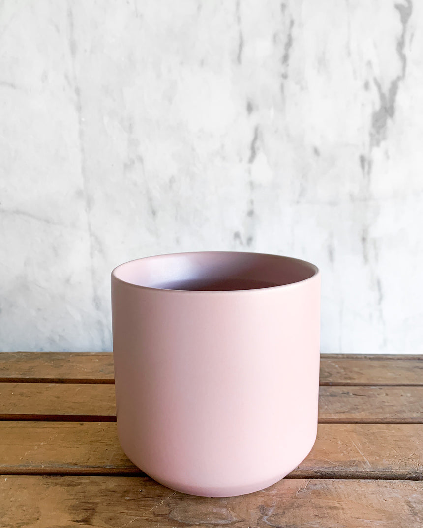Kendall Planter - Pink 8in