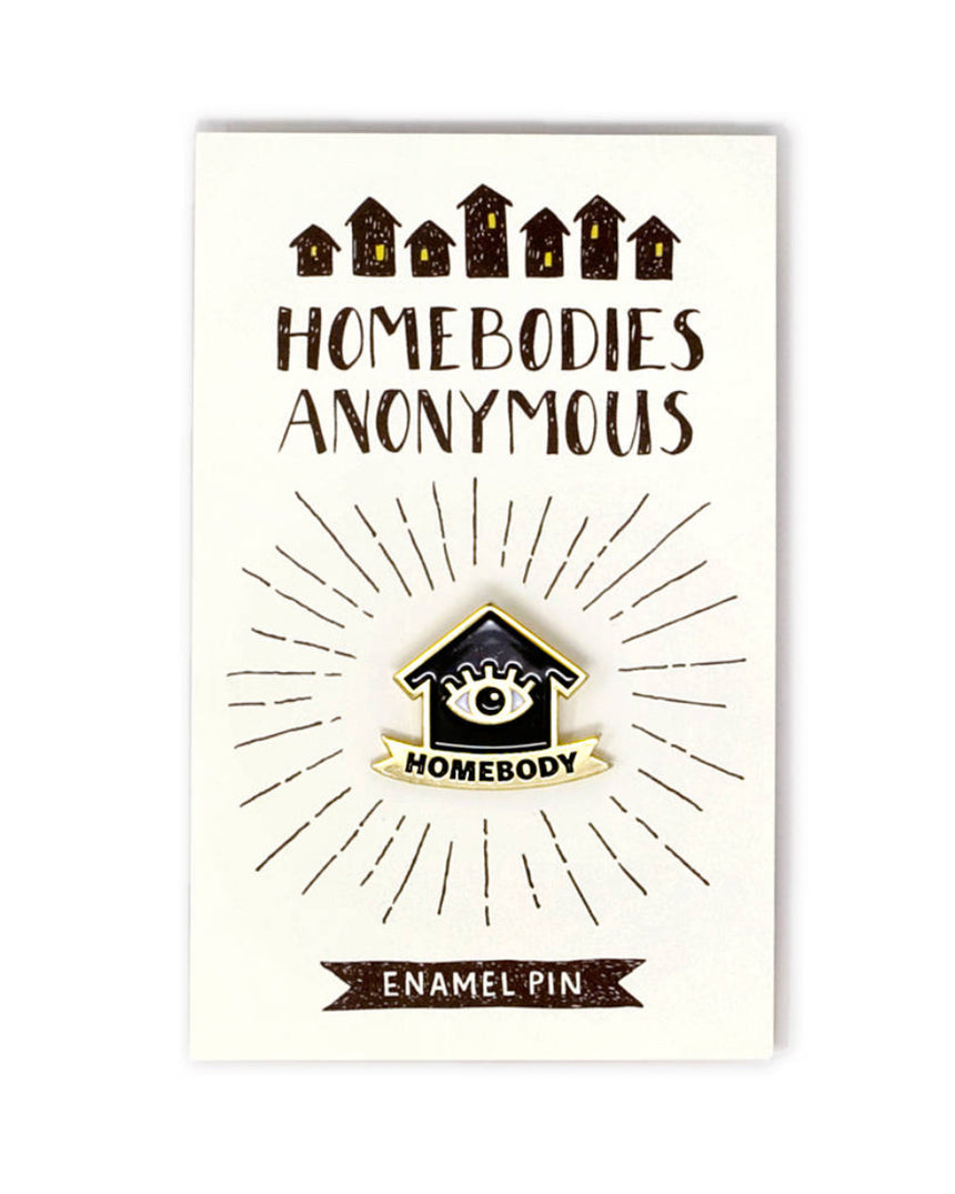 Enamel Pin - Homebody