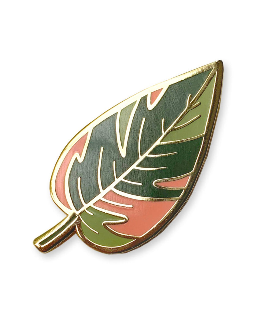Enamel Pin - Philodendron Pink Princess