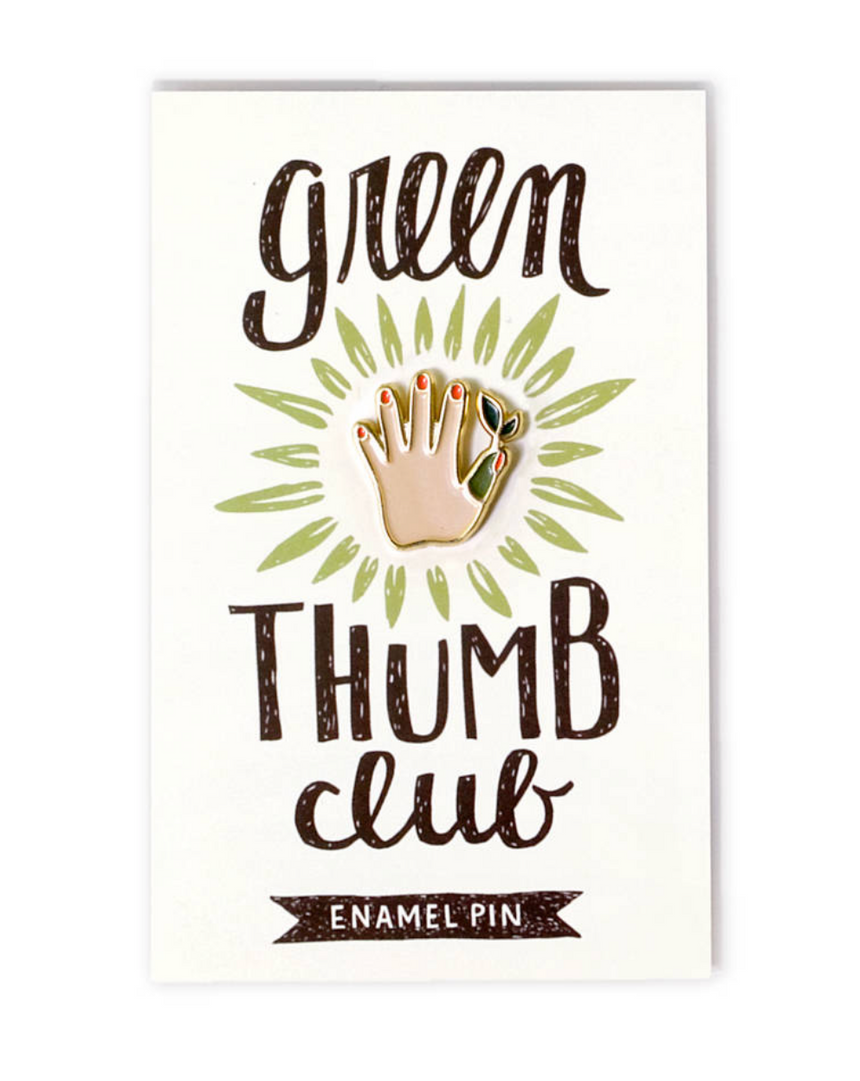 Enamel Pin - Green Thumb Club