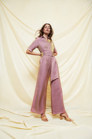 Two-Tone Jumpsuit - shop idPearl