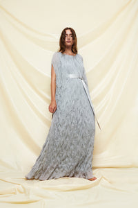Long Wrinkled Lurex Dress - shop idPearl