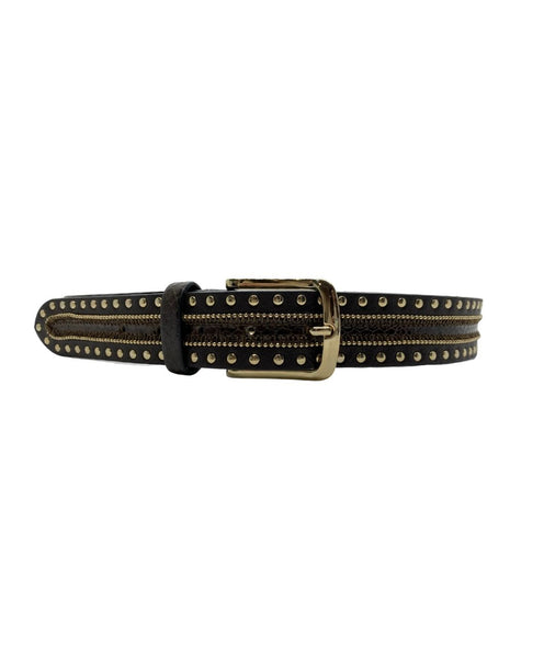 Silver Stud Belt - idPearl