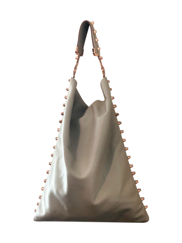 White Hobo Handbag - Shopidpearl