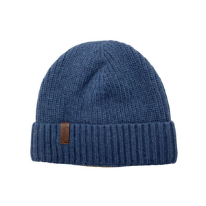 Edmond Two Rib Cashmere Beanie - shop idPearl