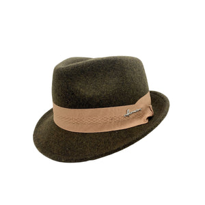 Magnus Short Brim Wool Hat - shop idPearl