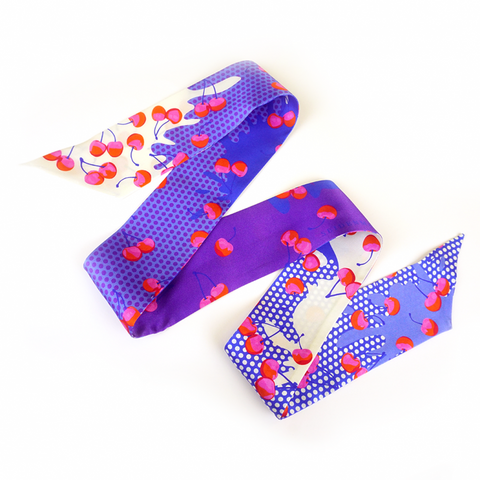 Merry Cherry Neck Tie - idPearl