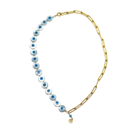 Nima Recycled Gold Chain Necklace - idPearl