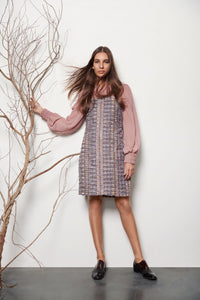 Tweed Dress - Shopidpearl