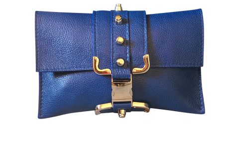 Cobalt Blue Crossbody Bag - Shopidpearl