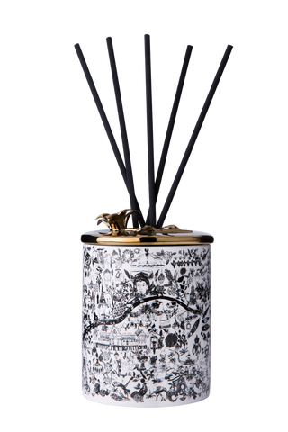 Chiang Mai, Thailand Porcelain Reed Diffuser - Shopidpearl