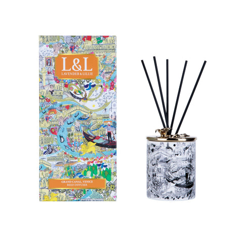Grand Canal, Venice Porcelain Reed Diffuser - Shopidpearl