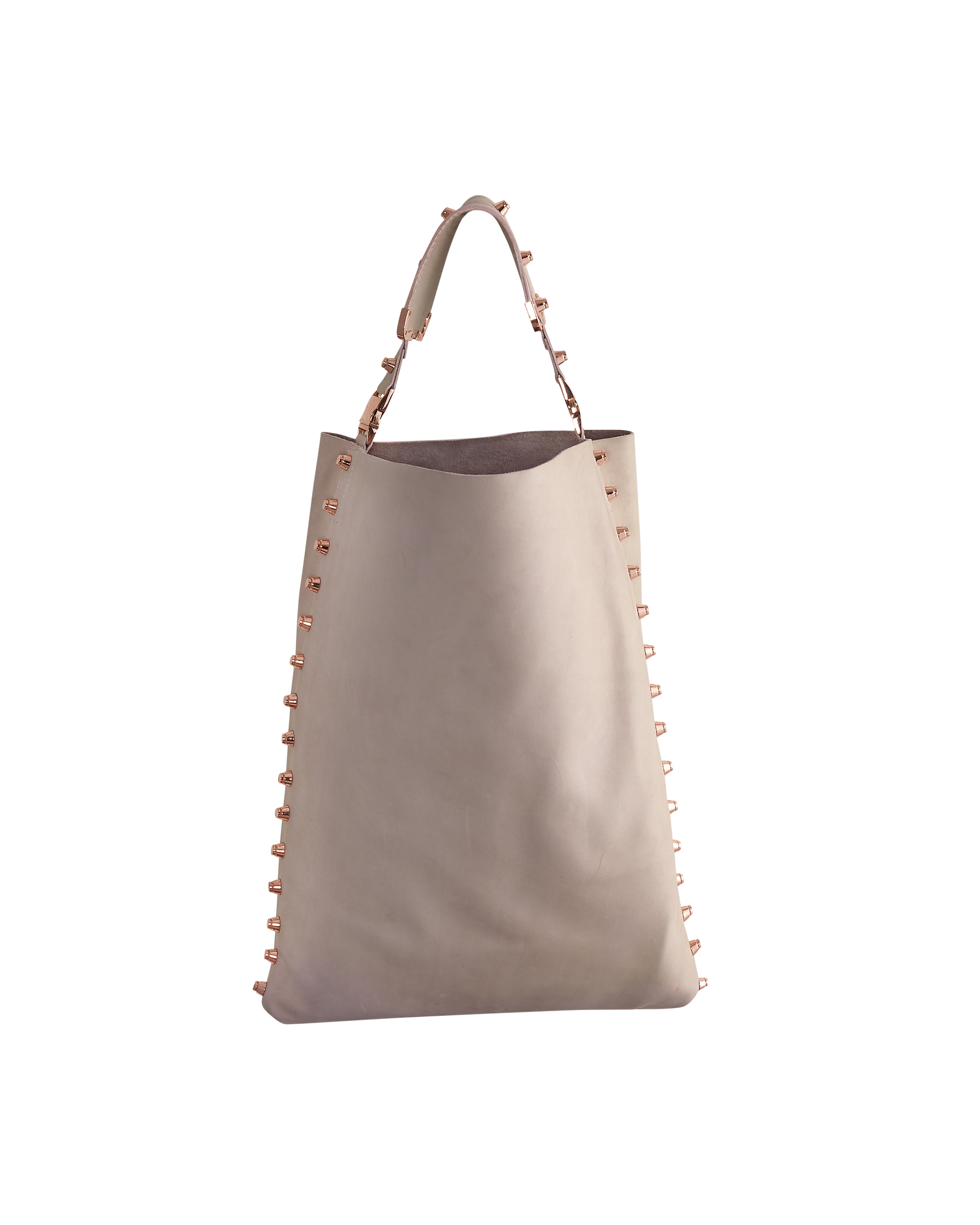 Blush Pink Leather 'My Everything' Hobo Handbag - Shopidpearl