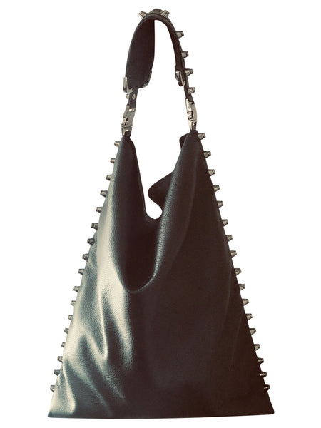 Black Hobo Handbag - Shopidpearl
