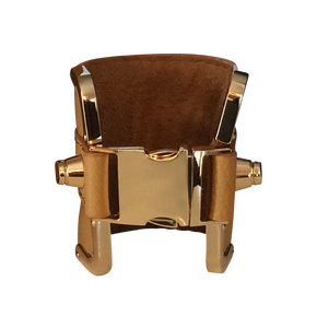Tan Leather Cuff - Shopidpearl