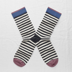 Night Stripe Socks - Shopidpearl