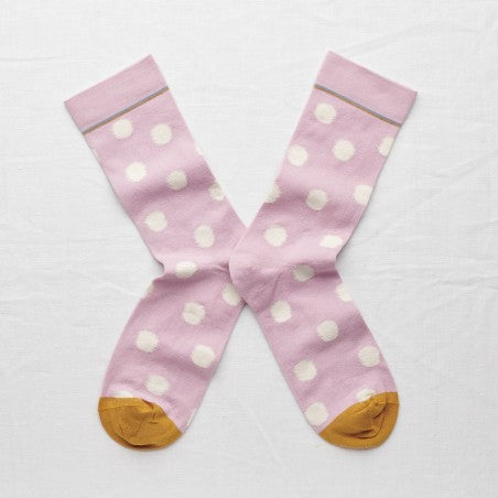 Rosewood Polka Dot  Socks - shop idPearl