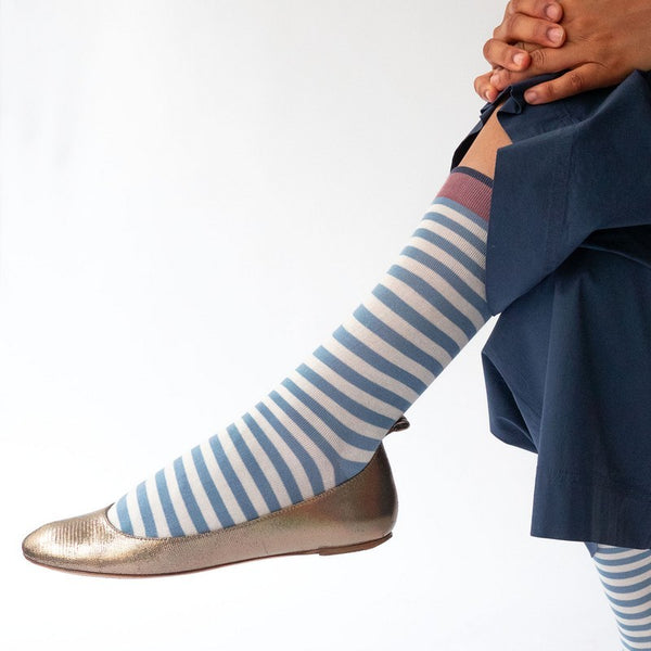 Storm Stripe Socks - Shopidpearl