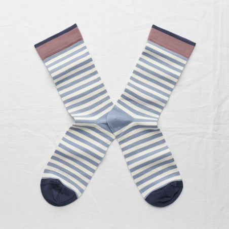 Storm Stripe Socks - shop idPearl