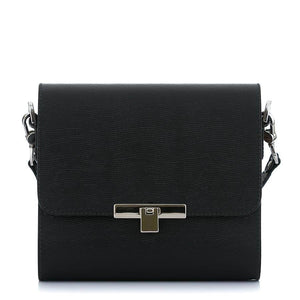 Black Saffiano Leather Bag Gloria - MY-SOUT