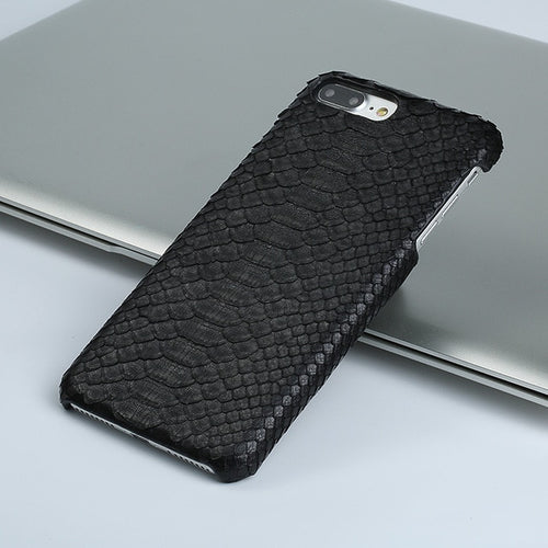 Genuine Leather Python Skin iPhone Case  X, XS, XR, 11, 11 Pro, 11 Pro Max, SE 2020 - MY-SOUT