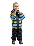 Elka Rainwear navy stripes