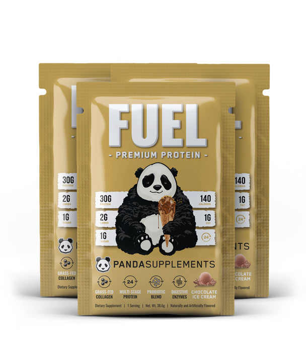 FUEL Premium Protein (Chocolate Ice Cream) - 3 Sample Pack