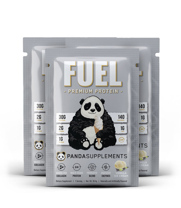 FUEL Premium Protein (Vanilla Ice Cream) - 3 Sample Pack