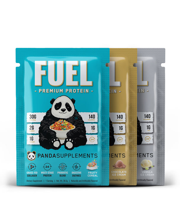 FUEL Premium Protein - All Flavors Sample Pack