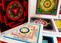 Yantra Greeting Cards