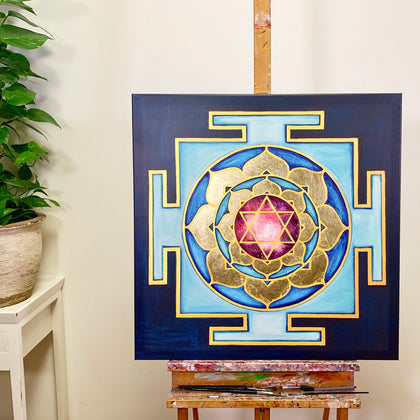 YANTRA of the Great Cosmic Power BHUVANESWARI