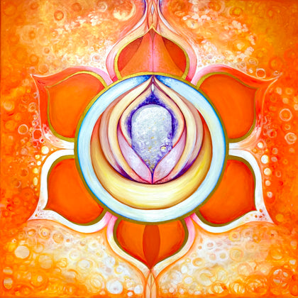 Swadistana Chakra Mandala, the center where our sublime erotic effervescence is born.