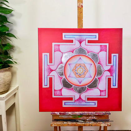 YANTRA of the Great Cosmic Power KAMALATMIKA