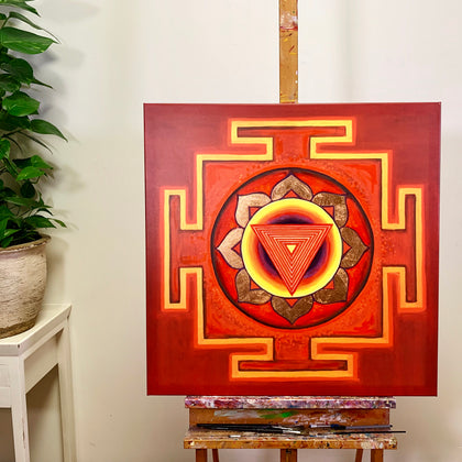 YANTRA of the Great Cosmic Power TRIPURA BHAIRAVI