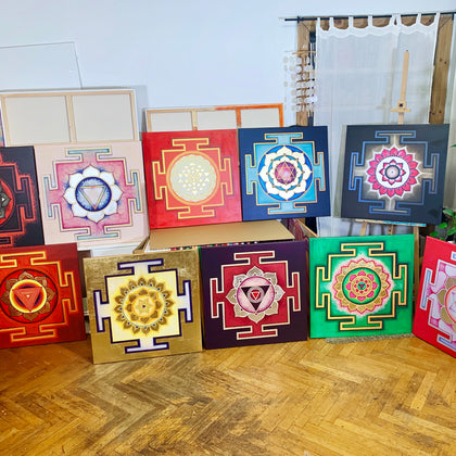 Yantra Collection of the Great Cosmic Power's