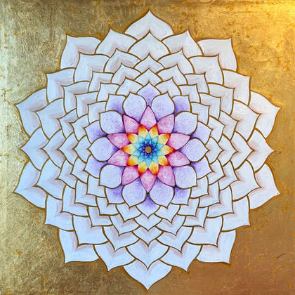Sahasrara mandala, the crown center