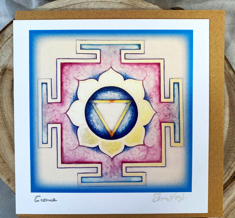 YANTRA Greeting card TARA