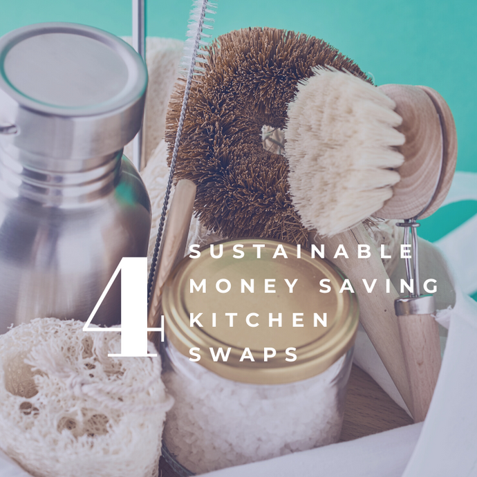 Saving Sustainably: 4 Money Saving Kitchen Swaps